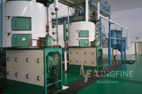 100tph palm oil extraction production machine